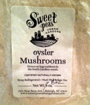 Sweet Peas Urban Garden Organic Oyster Mushrooms Pint
